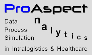 ProAspect.com - data analytics, process analytics, automod discrete event simulations, custom software developments and consulting in intralogistics and healthcare